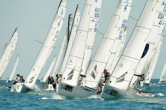 J/70 class Quantum Key West Race Week 2015