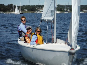 Stonington Harbor Yacht Club Ladies Sailing