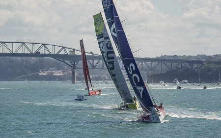Team SCA Wins Auckland in port race