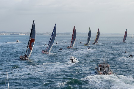 Auckland Volvo Ocean Race Start