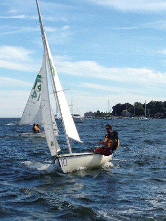 New England Science & Sailing Foundation & New London Community Boating join forces