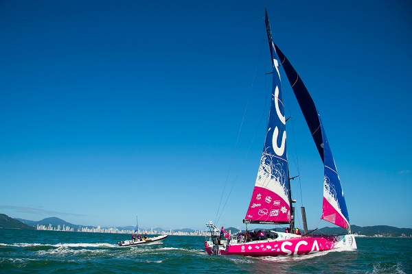 Team SCA Brazil finish
