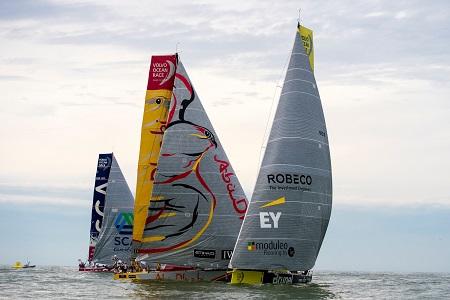 Volvo Ocean Race 2014-15 Brazil