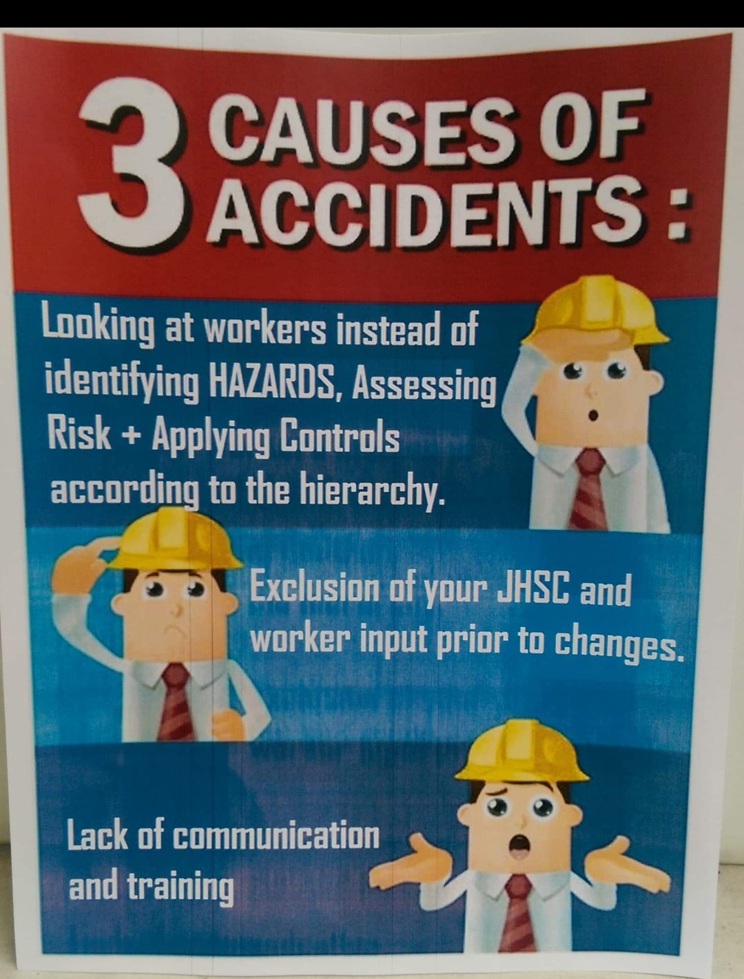 Three Causes of Accidents