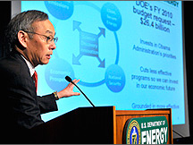 Secretary of Energy Chu