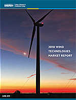 2010 Wind Technologies Market Report cover