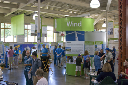 View the Wind Energy Center slide show