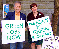 Green Jobs photograph by greenforall.org, some rights reserved