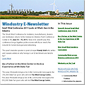 Windustry E-Newsletter