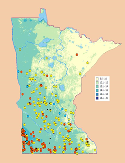 Minnesota Wind Interactive Map Application   Windustry