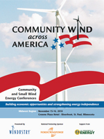 Community Wind Across America Midwest Region Program