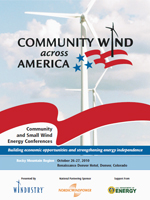 Community Wind Across America Rocky Mountain Region Program