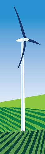 Turbine Energy on a Stick