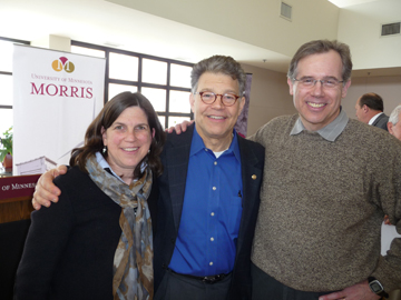 Senator Al Franken and Windustry Staff