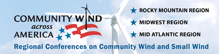 Register for a Community Wind across America Conference