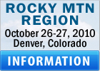 Get Information about Rocky Mountain Region Event