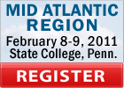 Mid Atlantic Region Registration