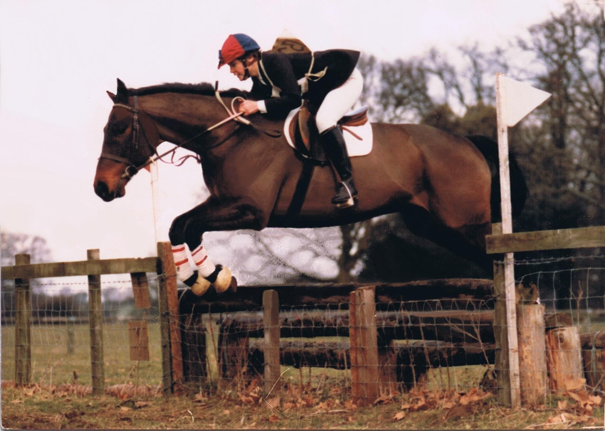 Jo riding Benjamin Jones