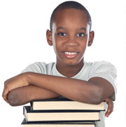 smart looking kid