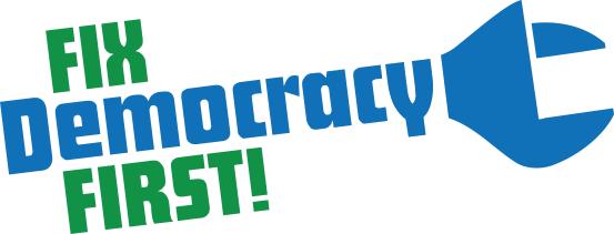 Fix Democracy First Logo