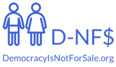 Democracy is not For Sale Logo