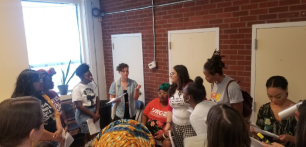 Caption: Abortion, Brunch, and Conversations: ABCs of Reproductive Justice with our partners in the Georgia Reproductive Health, Rights, and Justice Coalition.