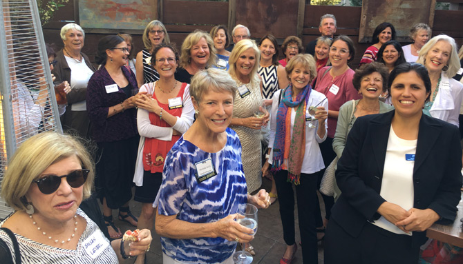 WIL members and guests at Summer Reception