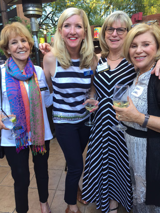 Coast District Trustee Lorraine Prinsky, Liz McNabb, Karol Gottfredson and Sue Leibel