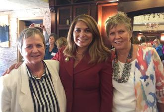 Pat Schuler, Assemblywoman Sharon Quirk-Silva and Karen Clark