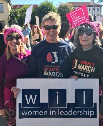 Sue Michelson, Karen Clark, Linda Oeth