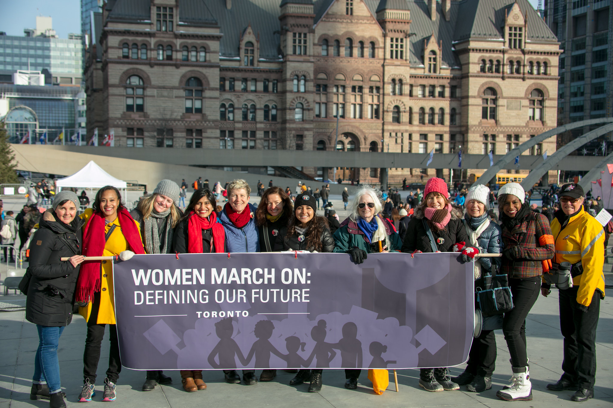 Women March On: Toronto Committee