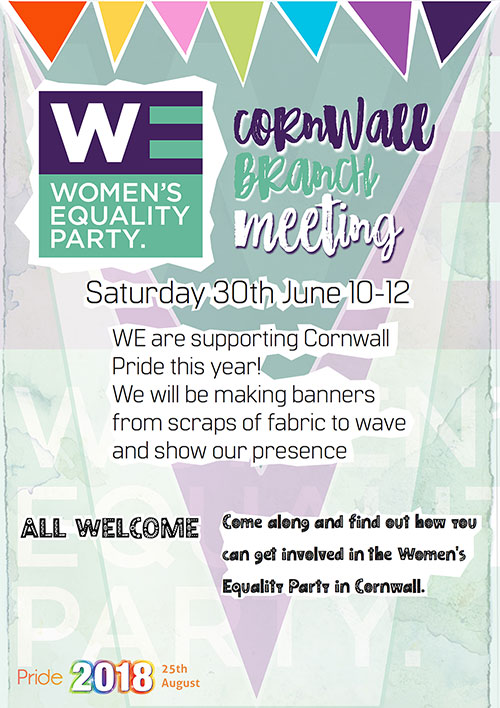WE Cornwall 30th June