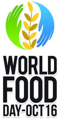 Logo della Giornata Mondiale dell'alimentazione 2016