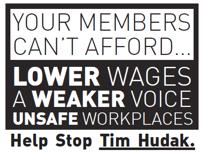 You can't afford Hudak
