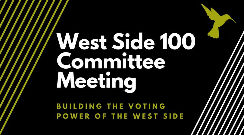 Ws 100 Planning Meeting West Side Community Organization