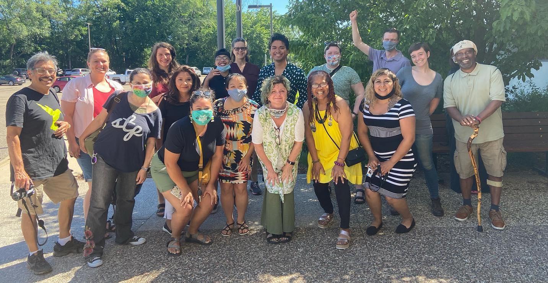 rent stabilization petition celebration