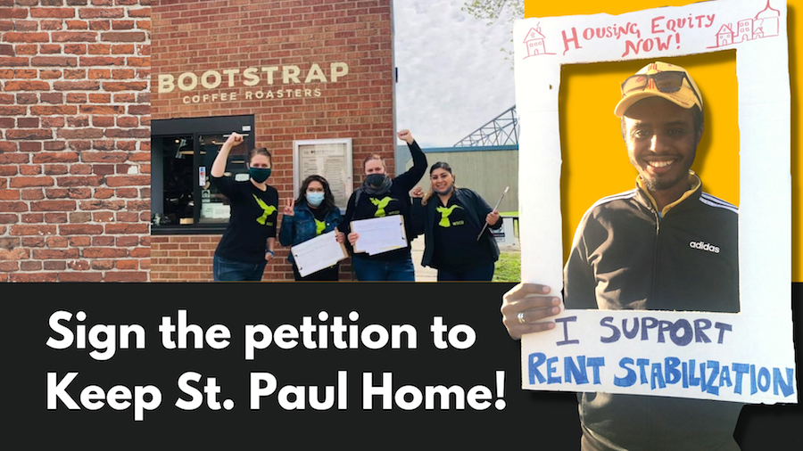 Saturday Signatures to Keep St Paul Home