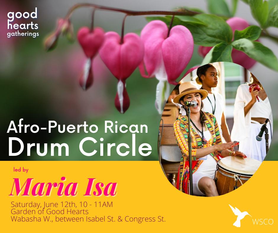 Maria Isa drum circle