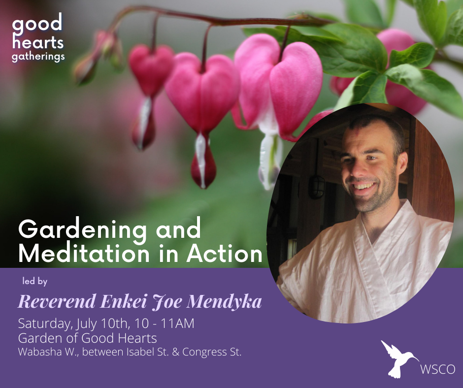gardening and meditation
