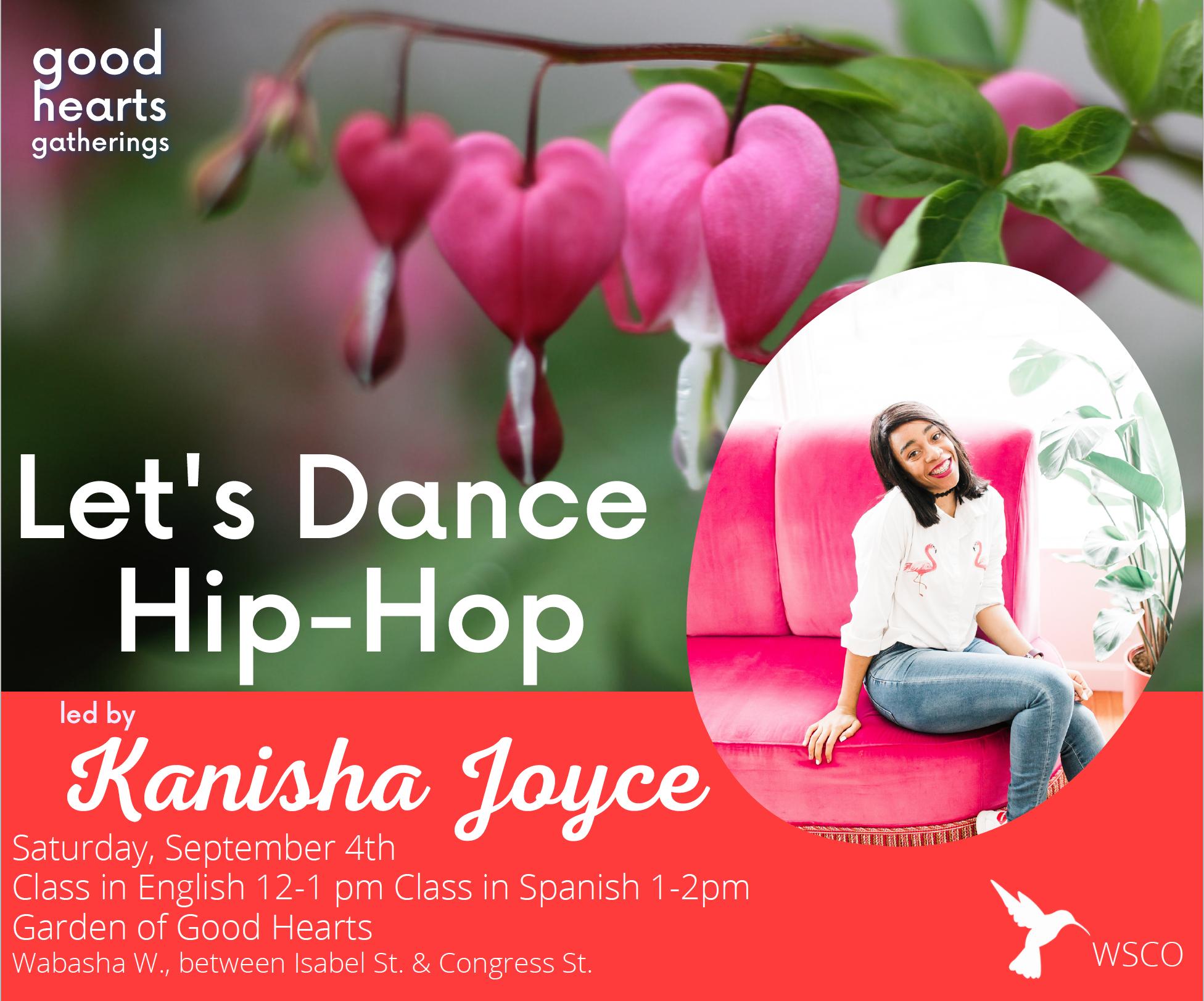 hip hop dancing digital flyer