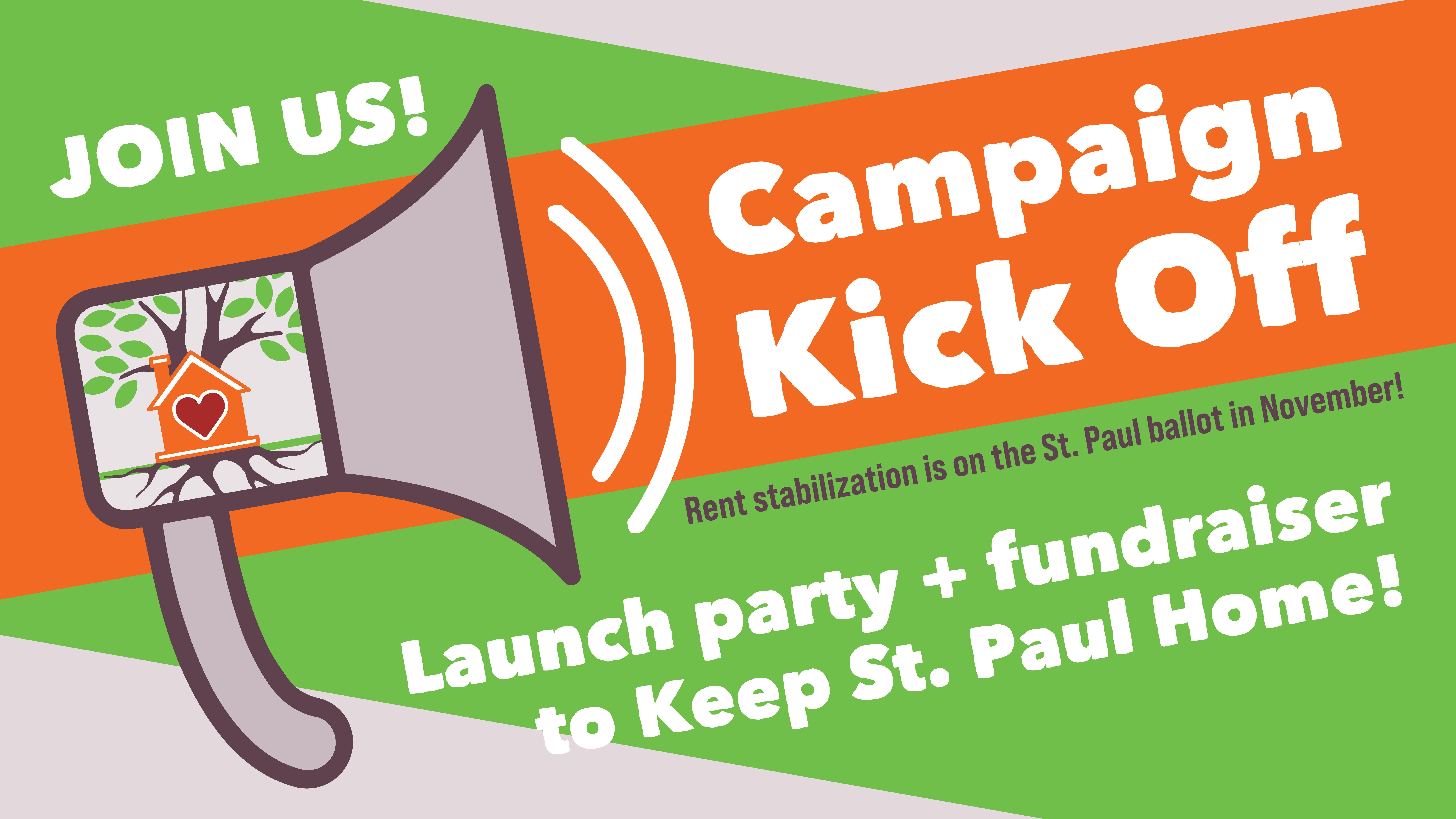 campaign kickoff banner