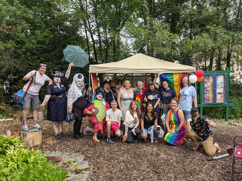 West Side Pride picnic