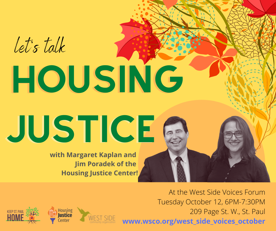 housing justice flyer