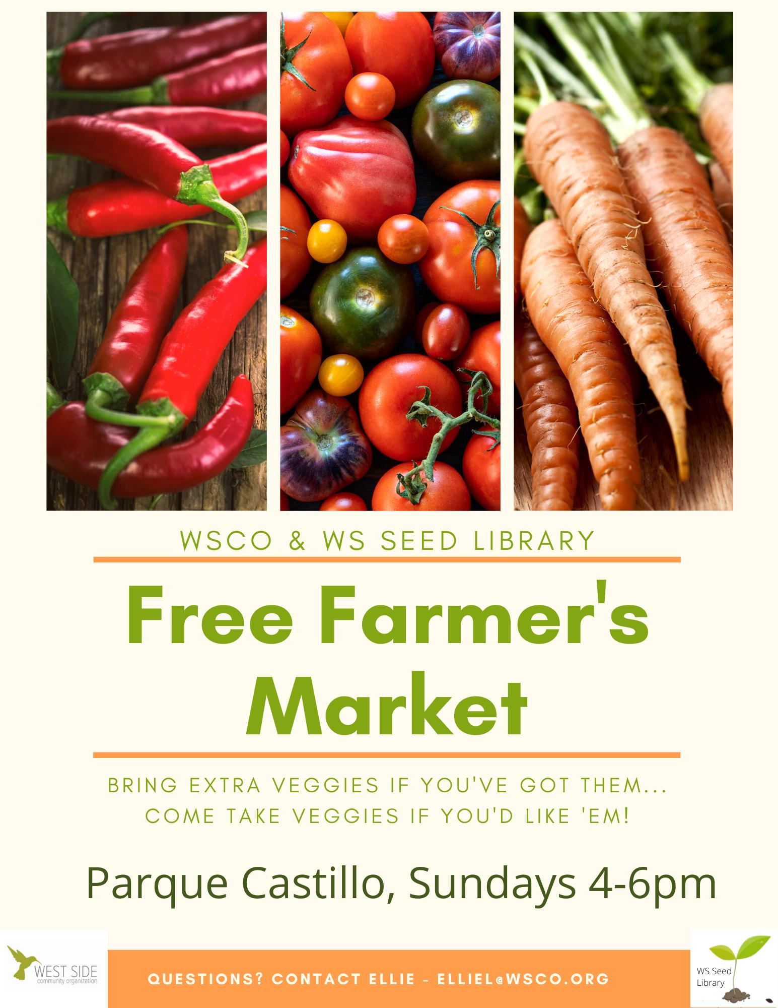 free farmer's market poster
