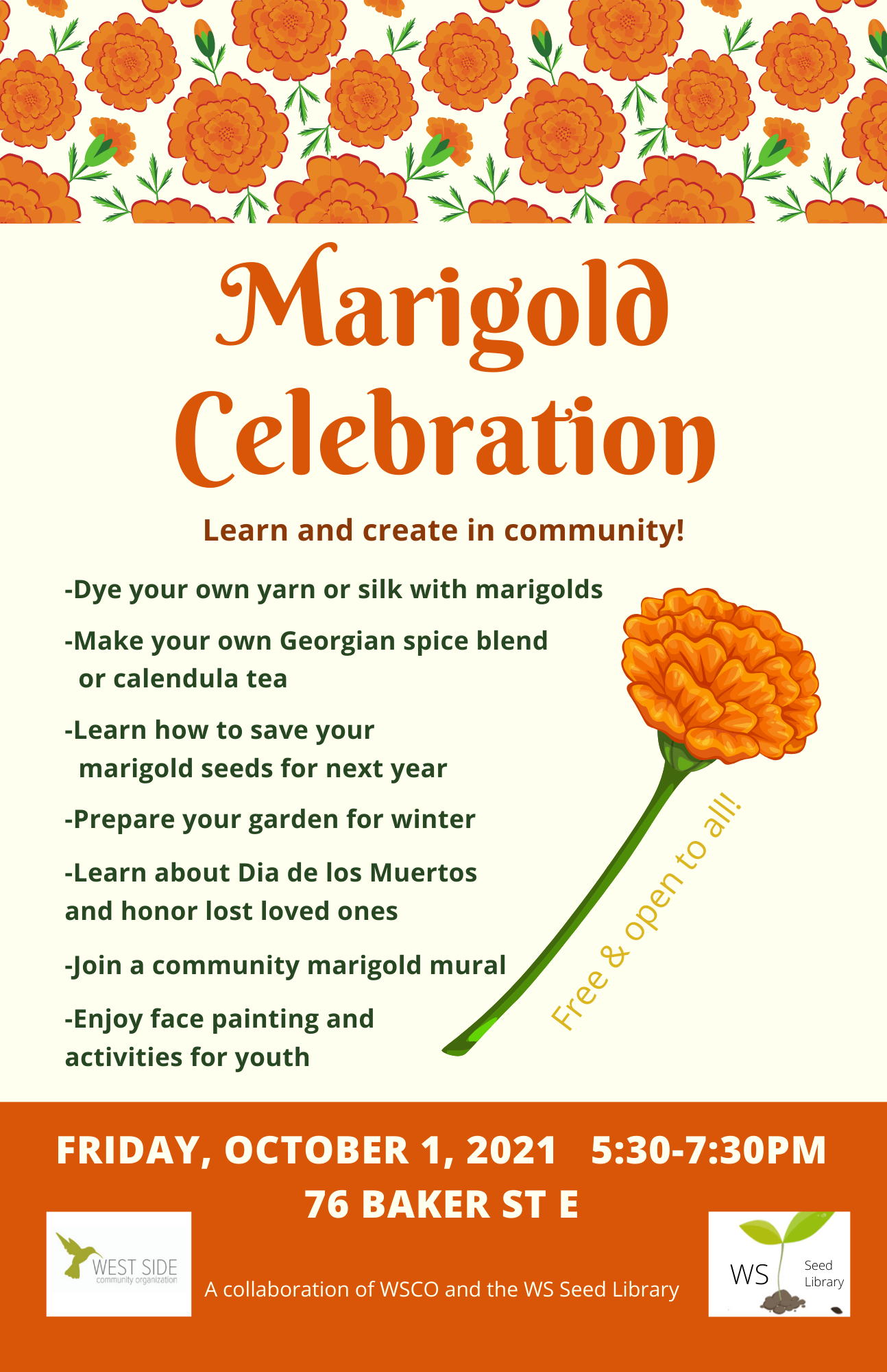 marigold celebration