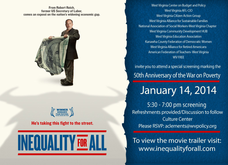 Inequality for All evite