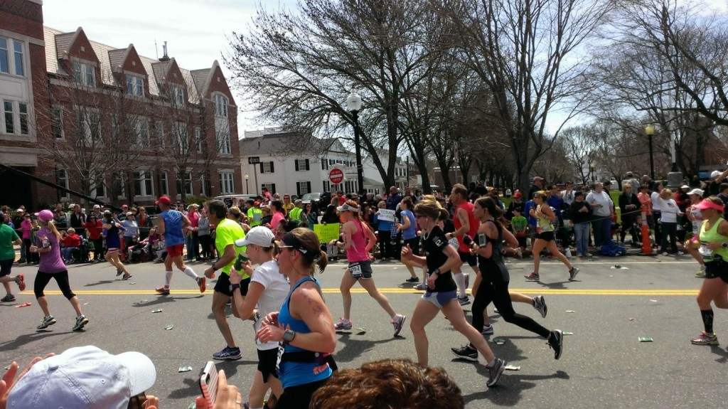 Alyson in marathon 4.21.14