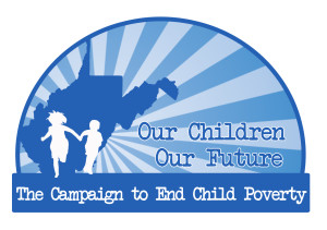 Our Children Our Future with Children Silhouette