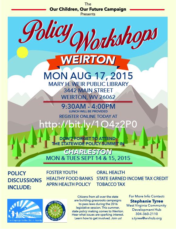 2015 WVRPW Weirton