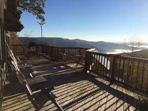 Cranberry Mt Lodge deck